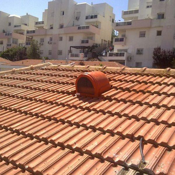 מפוח חשמלי לגג