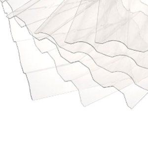 סנטף ® פלוס לוח פוליקרבונט גלי