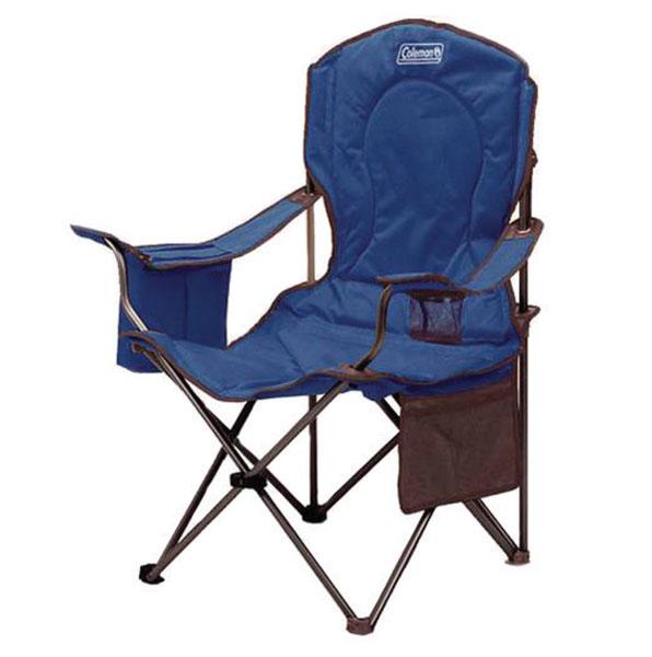 כסא כחול מתקפל לים