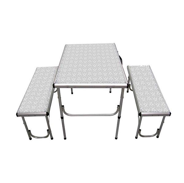 שולחן ל4 אנשים עם ספסלים