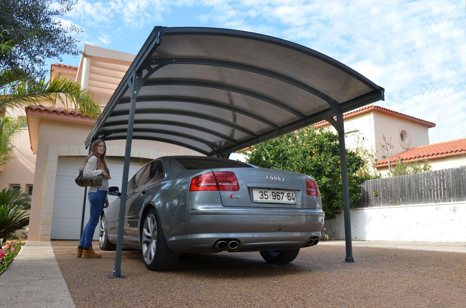 דגם ונסה- קירוי לרכב בהרכבה עצמית DIY