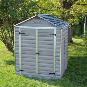 """מחסן לגינה - דגם הדר אפור 5*6 מק""""ט - 2395"""